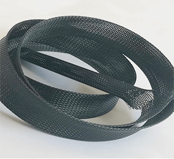 expandable polyester sleeving black ateeto