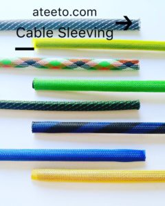 patterned braided sleeving