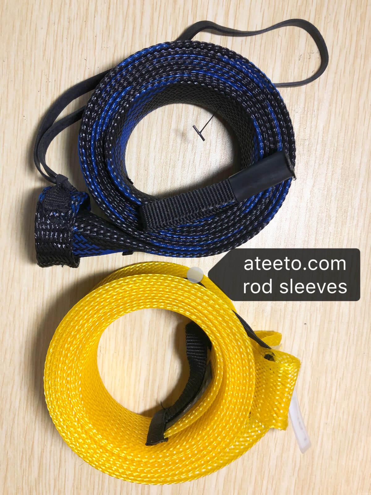 fishing rod sleeves for sale ateeto manuafacturer